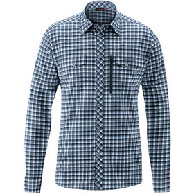 Maier Sports Peyo Camiseta Manga Larga Hombre, blue check